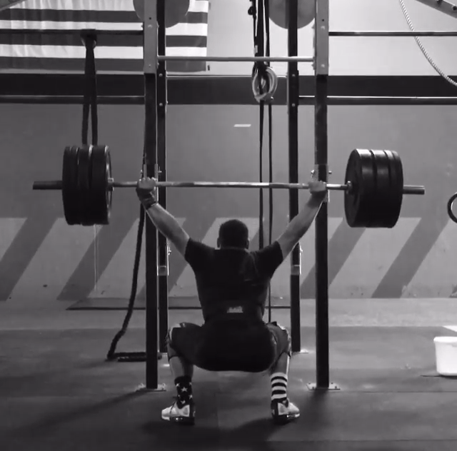 Andrew Ramirez who defines what mental strength means repping 275x4 OHS