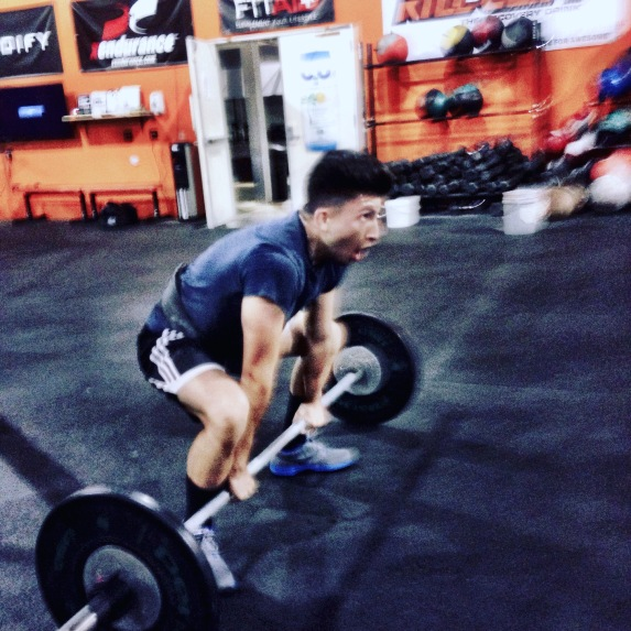 Juan Rivera comes in and gives it his all everyday without fail. Getting ready for his first competition 'NLI Classic' Here he is doing RX+ and tearing it up.