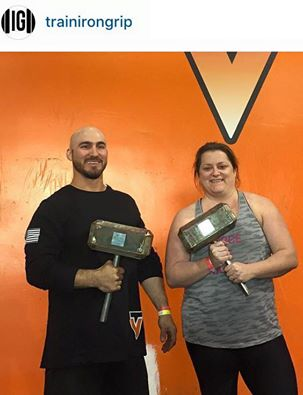 Set ‪#‎goals‬ your athletes couldn't set for themselves and instill confidence through achieving those goals they couldn't attain by themselves. Congrats Sabrina Suarrez & Tony Shaw for placing at the VikingFit ‪#‎powerlifting‬ meet held at hoem (TVCF)